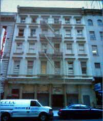 The current building at 45 Park Place, the location of the proposed ''Ground Zero Mosque''