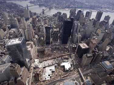 Aerial Photograph of Ground Zero